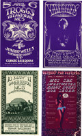 Music Memorabilia:Posters, Grande Ballroom Concert Postcard Group (Russ Gibb, 1968-69). Threevery cool Grande Ballroom, Detroit postcards, including T...(Total: 4 Item)