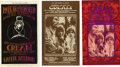 Music Memorabilia:Posters, Cream Grande Ballroom Postcard Group (Russ Gibb, 1967-68). Threegreat, unused postcards from Detroit's Grande Ballroom (da...(Total: 3 Item)