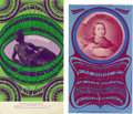 Music Memorabilia:Posters, Grande Ballroom Psychedelic Concert Postcard Group (Russ Gibb,1967) Detroit's Gary Grimshaw was an artist on par with the b...(Total: 2 Item)