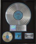 Music Memorabilia:Awards, Joe Walsh Their Greatest Hits (1971-1975) RIAAMulti-Platinum Album Award (1976). Presented to Joe Walsh tocomm... (Total: 1 Item)