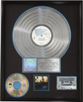 Music Memorabilia:Awards, Eagles Hotel California RIAA Multi-Platinum CD Award (1976).Presented to Joe Walsh to commemorate the sale of m... (Total: 1Item)