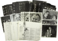 Movie/TV Memorabilia:Photos, Assorted Photos and Contact Sheets from CENSORED Club Roasts. A setof approximately three dozen photos and contact sheets f... (Total:1 Item)