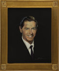 "Movie/TV Memorabilia:Original Art, Milton Berle CENSORED Club Portrait by Nicholas Volpe. A 16"" x 20""pastel portrait of the late comedian and CENSORED Club Pr...(Total: 1 Item)"