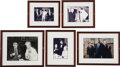 "Movie/TV Memorabilia:Photos, Beverly Hills CENSORED Club Set of Five Framed Photos. Set of five color and b&w ranging in size from 4"" x 6"" to 8"" x 10"" ph... (Total: 1 Item)"