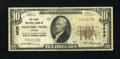 National Bank Notes:Virginia, Newport News, VA - $10 1929 Ty. 1 The First NB Ch. # 4635. ...