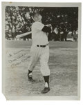 Autographs:Photos, 1950's Mickey Mantle Signed Photograph. While any signed photograph from the Mick's playing days is tough, those from the 1...