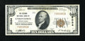 National Bank Notes:Pennsylvania, Uniontown, PA - $10 1929 Ty. 1 The Second NB Ch. # 5034. ...