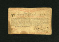 Colonial Notes:New York, New York August 25, 1774 (Water Works) 8s Fine-Very Fine....