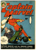 Golden Age (1938-1955):Science Fiction, Captain Marvel Adventures #55 (Fawcett, 1946) Condition: FN/VF....