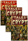 Golden Age (1938-1955):Horror, Tales From the Crypt Group (EC, 1952-54) Condition: ApparentGD/VG.... (Total: 5 Items)