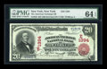 National Bank Notes:New York, New York, NY - $20 1902 Red Seal Fr. 640 The American Exchange NBCh. # (E)1394. ...