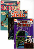 Bronze Age (1970-1979):Horror, House of Secrets Group (DC, 1972-78) Condition: Average VF+....(Total: 34 Comic Books)
