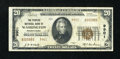 National Bank Notes:Pennsylvania, Washington, PA - $20 1929 Ty. 2 The Peoples NB Ch. # 9901. ...