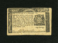 Colonial Notes:New York, New York March 5, 1776 $1/4 Very Fine-Extremely Fine....