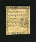 Colonial Notes:Pennsylvania, Pennsylvania April 10, 1777 6d Very Fine....