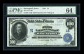 National Bank Notes:Iowa, Davenport, IA - $100 1902 Plain Back Fr. 698 The First NB Ch. # 15. ...