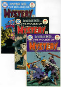 Bronze Age (1970-1979):Horror, House of Mystery Group (DC, 1975-80) Condition: VF/NM.... (Total:35 Comic Books)