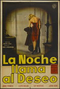 """Movie Posters:Drama, Girl of the Night (Warner Brothers, 1960). Argentinean Poster (29"""" X 43""""). Drama...."""