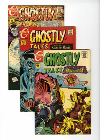 Ghostly Tales Group (Charlton, 1968-80) Condition: Average VF/NM unless otherwise noted.... (Total: 35 Comic Books)