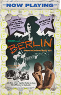 Music Memorabilia:Posters, Lou Reed Berlin 3-D Stand Up In-Store Display (RCA, 1973).Lou Reed was never one to play by the rules. He followed up ...(Total: 1 Item)