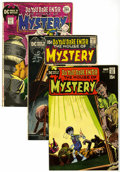 Bronze Age (1970-1979):Horror, House of Mystery Group (DC, 1971-72) Condition: Average VF/NM....(Total: 9 Comic Books)