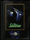 "Movie Posters:Adventure, The Shadow (Universal, 1994). Press Kit (Multiple Pages) with StillSet of 10 (8"" X 10""). Fantasy Action. Starring Alec Bald..."