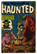Golden Age (1938-1955):Horror, This Magazine Is Haunted #10 (Fawcett, 1953) Condition: VG+....