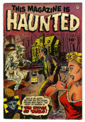 Golden Age (1938-1955):Horror, This Magazine Is Haunted #9 (Fawcett, 1953) Condition: FN-....