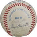Autographs:Baseballs, 1983 Chicago White Sox Team Signed Baseball. Twenty-threesignatures from the '83 Chicago White Sox, who finished atop theA...