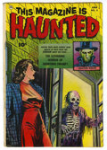 Golden Age (1938-1955):Horror, This Magazine Is Haunted #5 (Fawcett, 1952) Condition: VG+....
