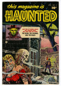 Golden Age (1938-1955):Horror, This Magazine Is Haunted #4 (Fawcett, 1952) Condition: VG....