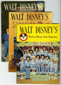Magazines:Miscellaneous, Walt Disney's Mickey Mouse Club Magazine Group (Western Publishing,1956-58) Condition: Average VG+.... (Total: 7)