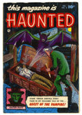 Golden Age (1938-1955):Horror, This Magazine Is Haunted #3 (Fawcett, 1952) Condition: FR....