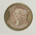 Encased Postage: , HB-152 EP-82 5¢ Irving House Ribbed Frame About New. The case is alovely natural light-brass color, the stamp is well cente...