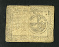 Colonial Notes:Continental Congress Issues, Continental Currency May 10, 1775 $2 Fine....