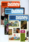 Magazines:Miscellaneous, Wonderful World of Disney Magazine Group (Walt Disney Productions,1968-70) Condition: Average VG+.... (Total: 6)