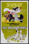 "Movie Posters:Animated, 101 Dalmatians (Buena Vista, R-1979). One Sheet (27"" X 41"").Animated...."