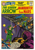 Silver Age (1956-1969):Superhero, The Brave and the Bold #50 The Green Arrow and Manhunter From Mars (DC, 1963) Condition: FN....
