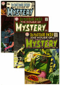 Silver Age (1956-1969):Horror, House of Mystery Group (DC, 1968-70) Condition: Average VF+....(Total: 8 Comic Books)