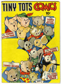 Golden Age (1938-1955):Funny Animal, Tiny Tots Comics #1 (Dell, 1943) Condition: VG+....