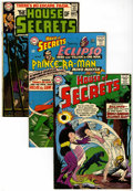 Silver Age (1956-1969):Mystery, House of Secrets Group (DC, 1965-77) Condition: Average FN....(Total: 8 Comic Books)