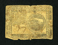 Colonial Notes:Continental Congress Issues, Continental Currency November 2, 1776 $4 Very Good....