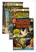 Bronze Age (1970-1979):Horror, Ghostly Haunts Group (Charlton, 1971-78) Condition: VF/NM....(Total: 10 Comic Books)