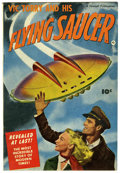 Golden Age (1938-1955):Science Fiction, Vic Torry & His Flying Saucer #nn (Fawcett, 1950) Condition:FN/VF....