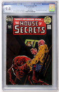 Bronze Age (1970-1979):Horror, House of Secrets #98 (DC, 1972) CGC NM 9.4 White pages....