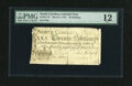 Colonial Notes:North Carolina, North Carolina March 9, 1754 20s PMG Fine 12....