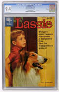 Silver Age (1956-1969):Adventure, Lassie #49 File Copy (Dell, 1960) CGC NM 9.4 Off-white to white pages....