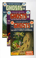 Bronze Age (1970-1979):Horror, Ghosts Group (DC, 1973-80) Condition: Average VF/NM unlessotherwise stated.... (Total: 45 Comic Books)