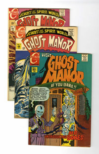 Ghost Manor Series 1 and 2 Group (Charlton, 1969-79) Condition: Average VF+.... (Total: 18 Comic Books)