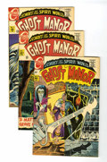 Silver Age (1956-1969):Horror, Ghost Manor Group (Charlton, 1968-71) Condition: Average VF/NMunless otherwise stated.... (Total: 13 Comic Books)
